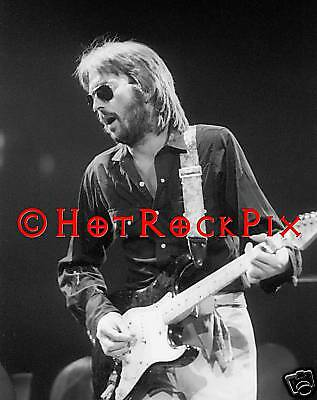 Archival Quality Photo Of Eric Clapton In Concert 1974