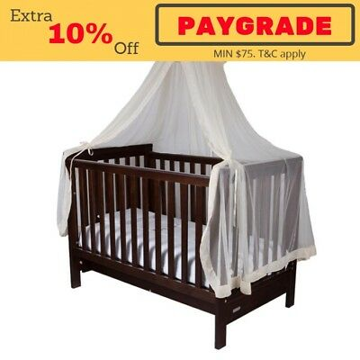 NEW Infa Secure Baby Cot Halo Net and Stand - Beige