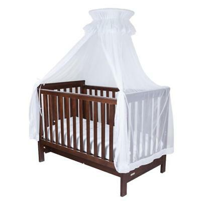 NEW Infa Secure Baby Cot Halo Net and Stand - White
