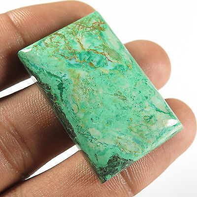 Gorgeous 75.80 Cts Real AZURITE MALACHITE Gemstone Rectangle Cabochon 37x24 mm