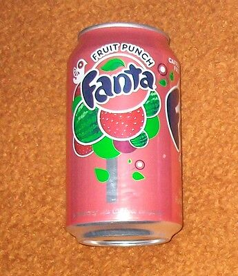 FANTA FRUIT PUNCH Dose 355ml VOLL full can USA Coca-Cola Company