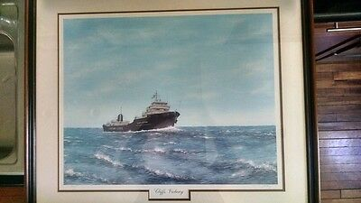 Cliffs Victory by Jim Clary Ltd Edition Lithograph-Framed-Personal Collection