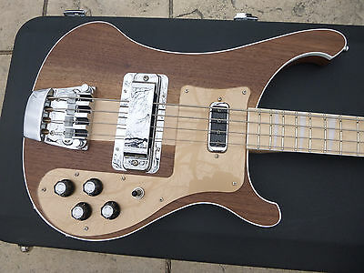 One of kind Rickenbacker 4003 W Walnut Bass Guitar w/ Case PERFECT