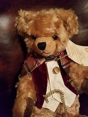 """Hermann Original 11"""" Bear Made West Germany Fully Jointed #31 0f 191 Countdown"""
