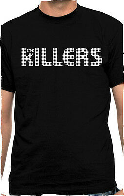 THE KILLERS - Logo - T SHIRT S-M-L-XL-2XL Brand New T Shirt - Rock Music