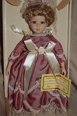 """12"""" Collector's Choice Limited Edition Bisque Porcelain Doll Nib"""