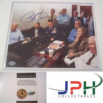 PRESIDENT BARACK OBAMA SIGNED 8.5x11 PHOTO INCLUDING AN AUTOGRAPH COA