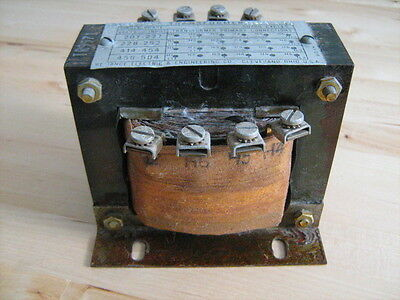 Step-Down Transformer 220 240 440 480 to 120V  Reliance Electric 65248-1S TR9571
