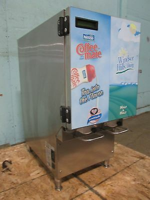 """kan-Pak Cdg211"" Commercial Refrigerated 2 Flavors  Coffee Creamer Dispenser"