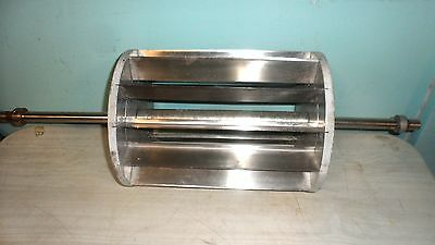 """Hd Commercial""""moline"""" 100% Stainless Steel Dough Roller Rotary Strip Cutter"""