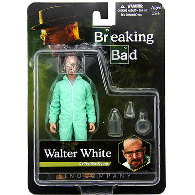 Rare New Breaking Bad Walter White Hazmat Suit 6.0 inch Action Figure Movies Toy