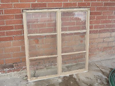 Vintage Casement Window (one) steel Architectural Salvage Industrial antique