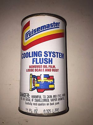 Gulf Oil Cruisemaster Cooling System Flush Pull Tab Can Vintage Antique Can