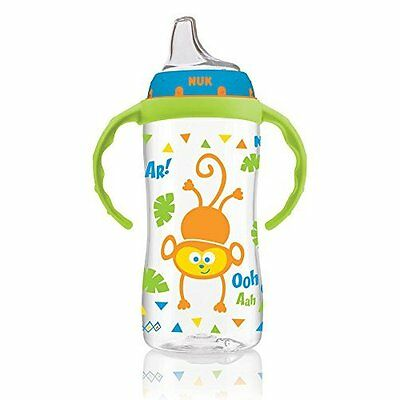 Learner Cup Sippy 10 Ounce Spill Proof BPA Free Kid Toddler Training Glass NUK