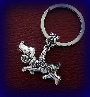 Keychain: Doxie DACHSHUND DOG Jewelry - Unique Style - Weiner Sausage Puppy Pup