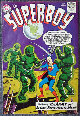 Superboy #86 - 4th Legion of Super-Heroes appearance! 1st Pete Ross appearance!