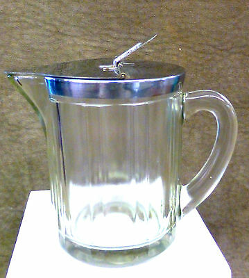 McKee Glass Large Syrup Pitcher - 1951
