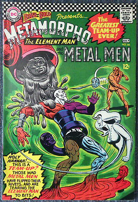 Brave and the Bold #66 - Metamorpho & The Metal Men! Very nice copy!