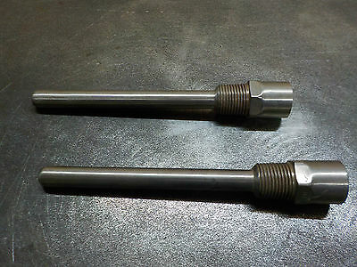 2 x 316 stainless steel temperature probe housing 1/2 NPT 170mm long