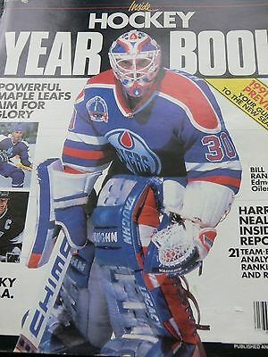 1990 Inside Hockey Yearbook,large Format Magazine,,1990/91 Nhl Preview