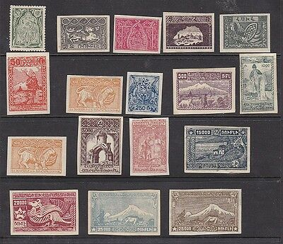 Armenia earlier 35 stamps. Three sets of stamps.Ideal for collection
