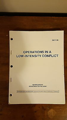 Army Military Manuals FM 7-98 Operations in a Low-Intensity Conflict