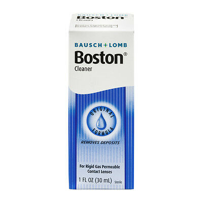 Bausch & Lomb Boston Cleaner for Contact Lenses, 1 oz