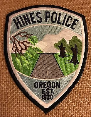 Hines, Oregon Police Patch