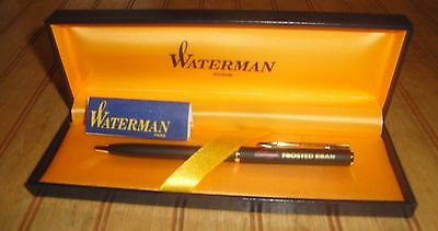 Rare Waterman Kellogg's Frosted Bran Cereal Employee Award Ball Point Pen MIB