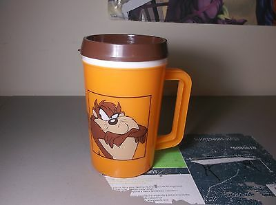 TAZ Tasmanian Devil 1994 Super Thermo Insulated Mug Looney Tunes 22 0z Betras