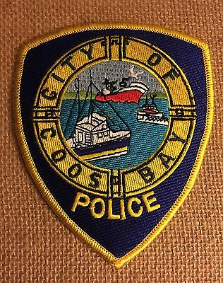 Coos Bay, Oregon Police Patch