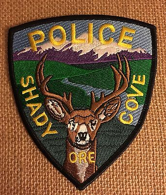 Shady Cove, Oregon Police Patch