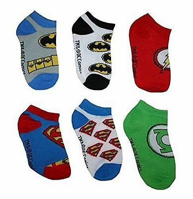 NEW Toddler Justice League 6 Pack Low-Cut Socks