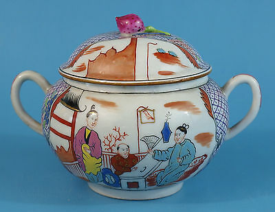 Wonderful And Very Old Herend Sugar Box - Chinoiserie - Very Rare- Museal !!