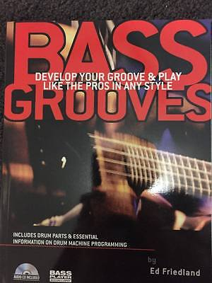 Bass guitar grooves funk tuition book