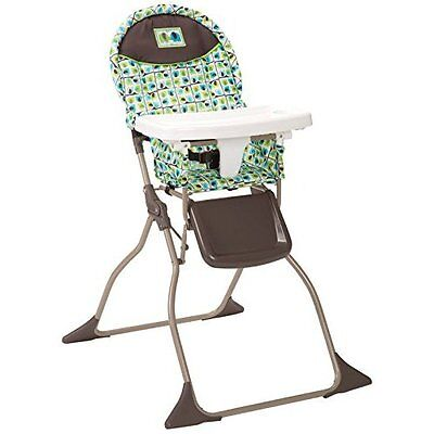 High Chair Baby Folding Adjustable Toddler Nursery Booster Seat Feeding Tray