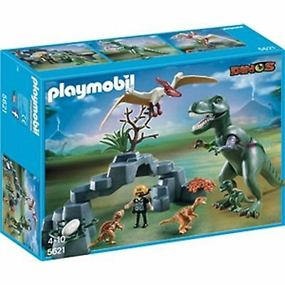 Playmobil 5621 Dino Club Set Dinosaurier inc. T-Rex