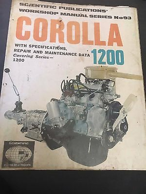 Corolla 1200 Workshop Manual