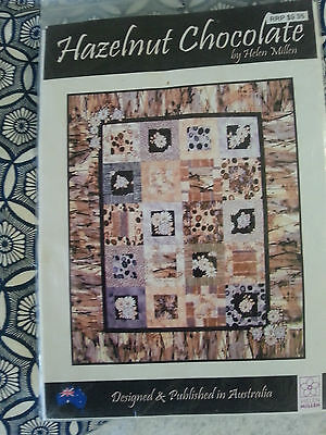 "Hazelnut Chocolate Quilt Kit -60"" X 70"""