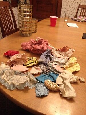"""Vintage Doll Clothes Lot Fashions For """"ginger"""" Vogue Dolls Inc"""
