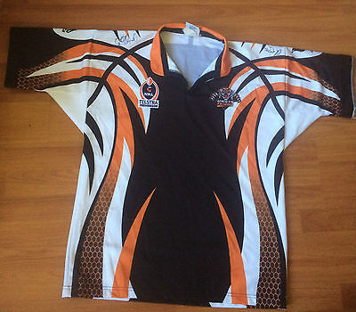 NRL Tigers Jersey Signed (size L)