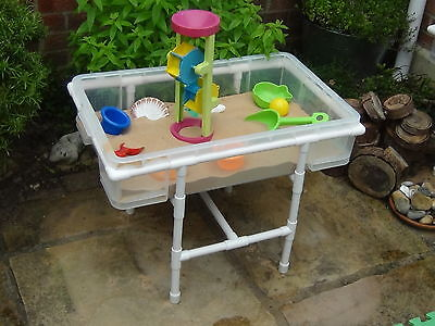 KIDS SAND AND WATER PLAY TABLE etc PLAY TABLE GARDEN INDOOR/OUTDOOR SANDPLAY TOY