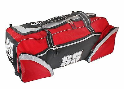 SS Limited Edition Wheelie Cricket Kit Bag PlayerGrade+FREE Gift & Ship+OZ Stock