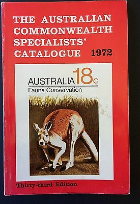 The Australian Commonwealth Specialists Catalogue (ACSC) 1972 Edited by JP Meara