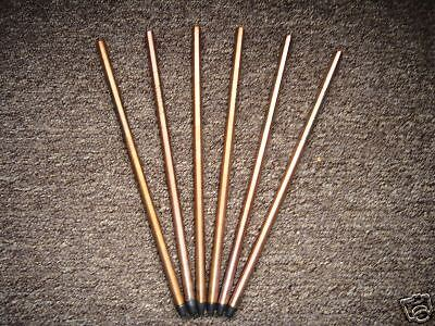 Replacement rods for arc welder brazing torch pack of 6