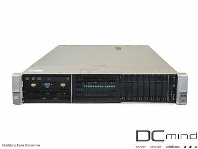 HP ProLiant DL380 G9 Server, 2x Intel E5-2620v4 8x 2.10GHz, 64GB RAM, 600GB SAS