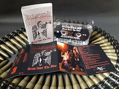 BLASPHEMY (Can) - Blood Upon the Altar PRO TAPE 2017 Ltd Exclusive Asian Edition