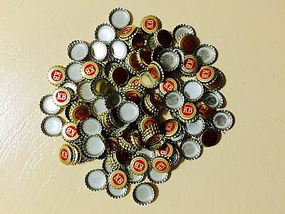 150 x Rare Vintage New Old Stock Twist Off KB Beer Bottle Top Caps