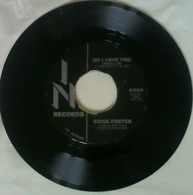 Northern soul record. Do I love you ( indeed I do) Eddie Foster