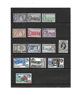 1 Early Elizabethan Montserrat Stamps MM + set International Tourist Year UMM
